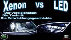xenon vs led der vergleichstest skoda octavia xenon vs