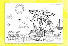 Ausmalbild Sommer Grundschule Herr Sonderbar Lernwerkstatt Der Sommer Ausmalbild