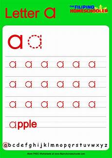 free lowercase letter tracing worksheets the homeschooler