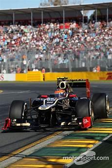 Grosjean Lotus F1 Team At Australian Gp