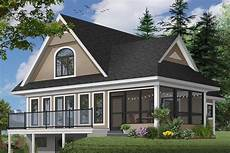 vacation house plans sloped lot plan 2104dr sloping lot vacation home plan farmhouse