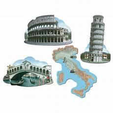 Peppa Wutz Malvorlagen Rom Wanddeko Quot Italien Quot 42 Cm 4 Tlg G 252 Nstig Kaufen Bei
