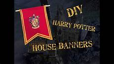 Diy Harry Potter House Banners
