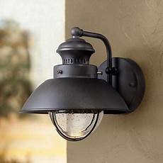 fordham 8 quot high black led outdoor wall light 5c013 lsplus com