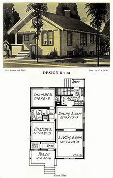 american bungalow house plans small bungalow 1918 modern american homes c l bowes