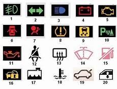 Auto Licht Symbole - 12 car warning icons images car dashboard warning lights