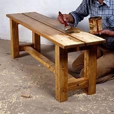 fabriquer un banc de jardin comment fabriquer un banc en bois massif wood working meubles en bois rustique banc bois