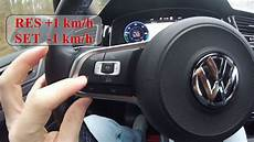 tempomat golf 7 how to set tempomat cruise vw golf gte or