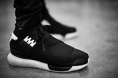 купить кроссовки adidas y 3 qasa high quot black white quot в