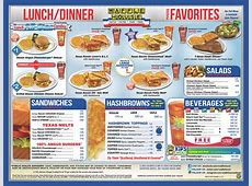 The Waffle House menu in 2020   Waffle house menu, Waffle