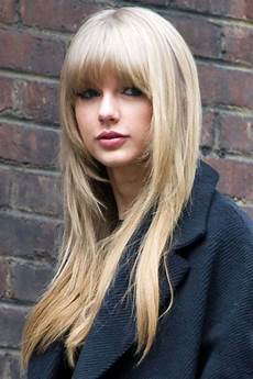 freshest layered hairstyles with bangs face framing fabulously flattering high
