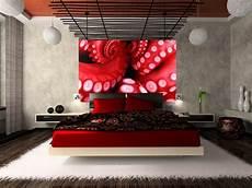 Rote Tapeten Wandgestaltung - home walls wallpapers octopus homewallmurals co uk