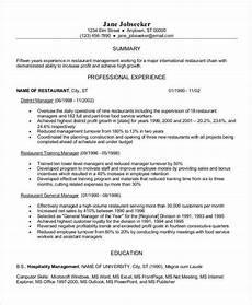 resume restaurant work experience 30 work resume templates in pdf free premium templates