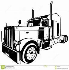 american truck stock vector illustration of