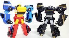 mainan tobot quatran c d r w police hitam besar toys car robot transformers youtube