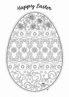 Ostereier Malvorlagen Challenge Free Easter Colouring Pages The Organised