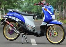 Modifikasi Motor Fino Standar modifikasi yamaha fino thailook standard motor