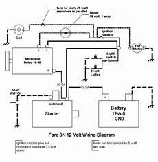 12 to 6 volt diagram wiring diagram for 6v tractor voltage regulator positive ground solenoid start