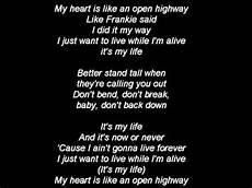 I Ts My Live jon bon jovi its my lyrics