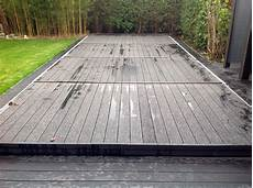 pool terrasse bauen kindersichere poolabdeckung selber bauen