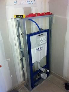 chassis wc suspendu realisation wc suspendu et amenagement point d eau