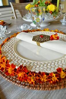 Decorations For Table by Entertaining From An Ethnic Indian Kitchen Deepawali Table
