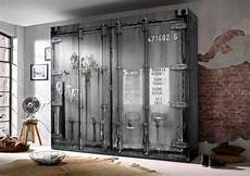 Schrank Kaufen - kleiderschrank korpus und front in container optik
