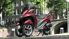 Essai Mbk Tryptik Yamaha Tricity 125 Le 3 Roues