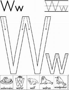 letter w worksheets for pre k 23711 alphabet letter w worksheet standard block font preschool printable activity early