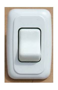 1 off rv 12 volt light switch motor home cer travel trailer marine white
