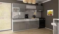Küchenzeile 2 40m - kuchyňsk 225 linka dolomiti 180 240 šed 253 lesk b 237 l 253 p 225 s