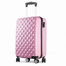Valise Cabine 55 Cm Abs Bagage Cabine Rigide 4 Roues Avion