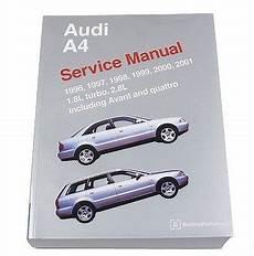 car repair manual download 2001 audi a4 electronic throttle control audi a4 s4 avant quattro 1996 2001 1 8l 2 8l service repair manual bentley software