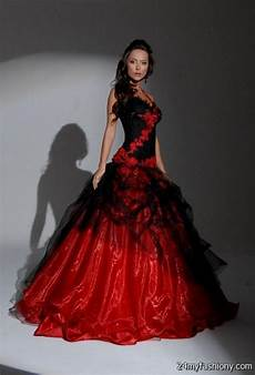beautiful black and red wedding dresses 2016 2017 b2b