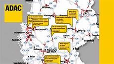 Baustellen Auf Deutschlands Autobahnen I Adac 2018