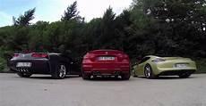 sound bmw m4 vs corvette c7 vs cayman gts