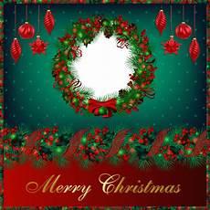 merry christmas photo frame circle transparent png stickpng