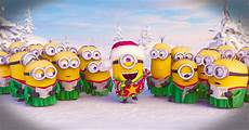 the minions sing a christmas carol to say merry christmas funny video