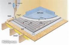 electric hydronic radiant heat systems the family