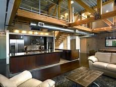 cuisine loft industriel hamilton loft industrial kitchen detroit by roger