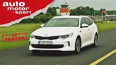 Kia Optima Sportswagon Hybrid Macht Er Den Diesel