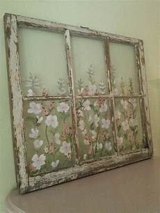 Shabby Chic Painted Window By Rightupmyalleydesign On