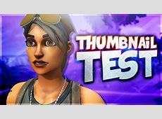 How To Make A Fortnite Thumbnail   Photoshop Tutorial