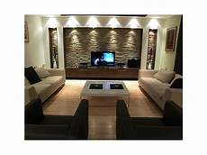 living room select focal wall and build out wall niches