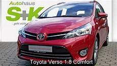 Toyota Verso 7 Sitzer Comfort 083803 Navachorot 2015