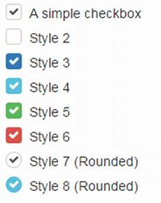 how to create and style html checkbox with pure css and a plug in