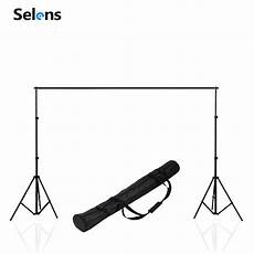 2x2m Professinal Photography Background Backdrops Support by Selens Photo Studio Backdrop Support System Set Stand