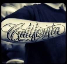 name unterarm california name on right arm writing tattoos