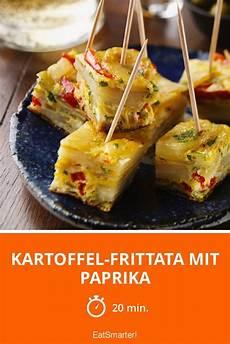 kartoffel frittata mit paprika rezept