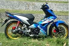 Warna Velg Motor Keren by Modifikasi Motor Honda Blade Velg Jari Jari Koleksi